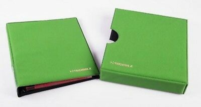 Coin Album Schulz 221 Coins Folder Binder Book Collection Holder 221E Green