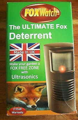 NEW FOXWATCH by CONCEPT RESEARCH ultrasonic fox watch deterrent