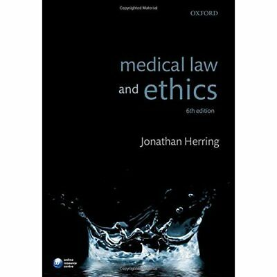 Medical Law and Ethics - Paperback NEW Jonathan Herrin 31 Mar. 2016
