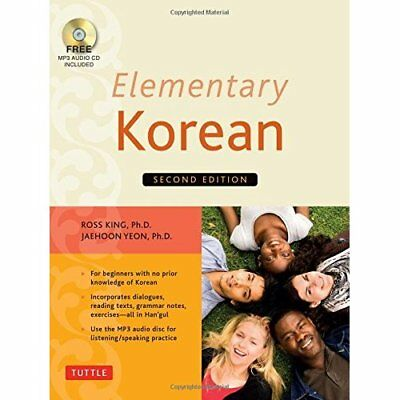 Elementary Korean [With CD (Audio)] - Paperback NEW King, Ross 2014-06-03