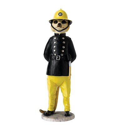 Country Artists Magnificent Meerkats Sam the Fireman Figurine NEW in Box
