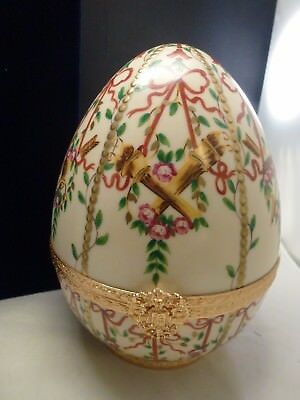 "Faberge Limited Edition #45 Imperial Gatchina Palace Egg  Very Large 8"" X 6"