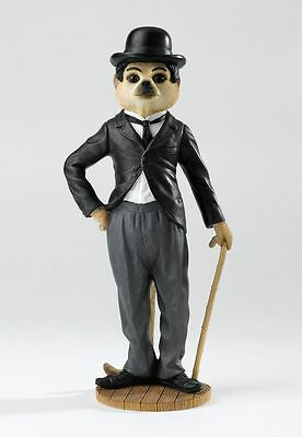 Magnificent Meerkats Charlie Chaplin Figurine in Gift Box