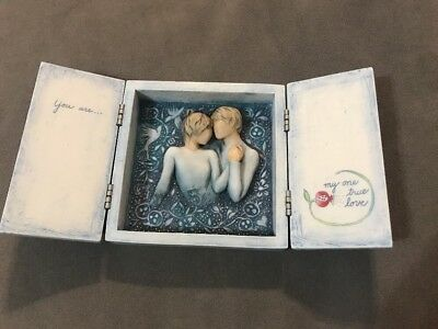 Willow Tree Hinged Box Susan Lordi Duet Our Love Song Signature Series  #27539