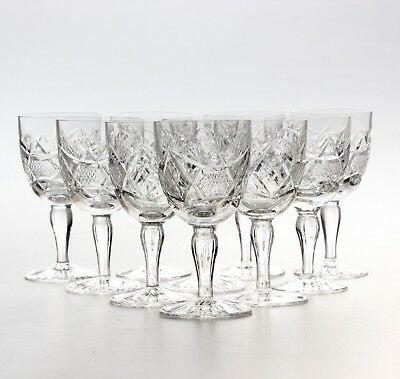 Edinburgh Crystal, 10 X Sherry Glasses, EDI45