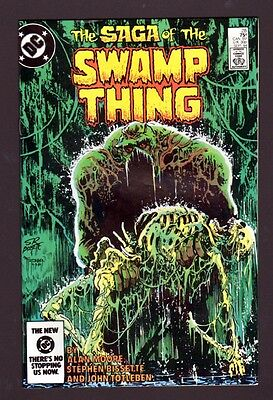 Swamp Thing 28 9.4 Near Mint 1984 Dc Alan Moore Shawn Mcmanus High Grade