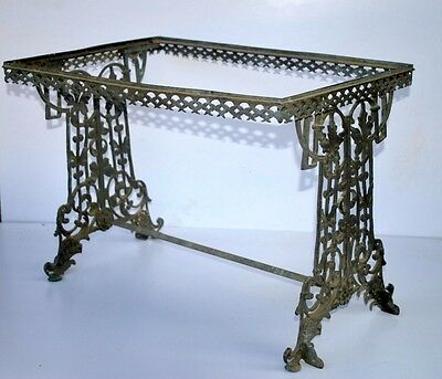 Old Ancient Rare Original  Cast Brass Bronze Rare  French Bar Royal Wine Table