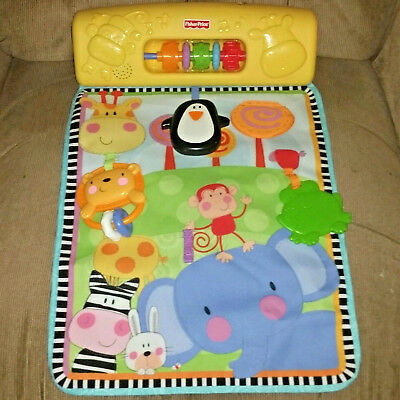 Fisher Price Discover & Grow Play Yard Activity Center 2011 Clips On Rail Music