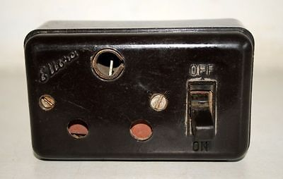 Vintage Bakelite Ceramic Switch