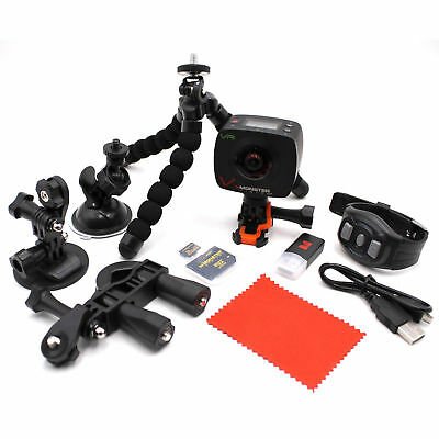 Monster Digital Vision 360 VR Virtual Reality Action Camera Tripod Set w/ Remote