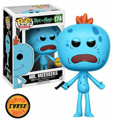 Funko Pop Animation: Rick and Morty - Mr. Meeseeks Chase Limited Edition 12441