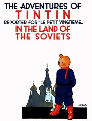 The Adventures of Tintin in the Land of the Soviets in Black & White (Hardcover)