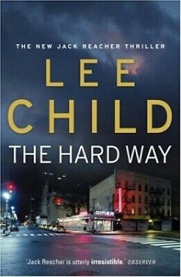 The Hard Way (Jack Reacher) by Child, Lee Hardback Book The Fast Free Shipping