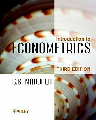 Introduction to Econometrics 3e by Maddala, G. S. 0471497282 The Fast Free