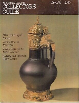 July 1981 The Antique Dealer and Collectors Guide - Good - Paperback
