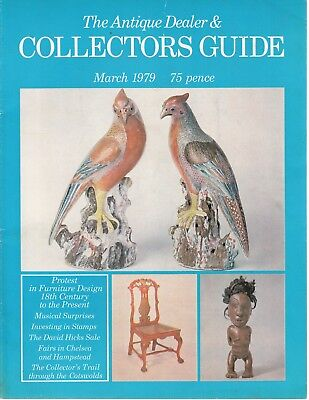 March 1979 The Antique Dealer and Collectors Guide - Good - Paperback