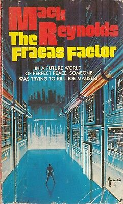 The Fracas Factor - Mack Reynolds - Leisure Books - Acceptable - Paperback