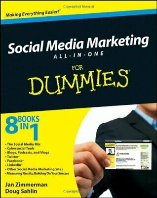 Social Media Marketing All-in-One For Dummies (For... by Sahlin, Doug 0470584688