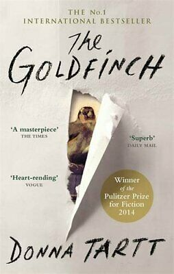The Goldfinch by Tartt, Donna Book The Fast Free Shipping