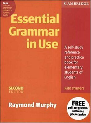 Essential Grammar in Use With Answers: A Self-S... by Murphy, Raymond 0521559286