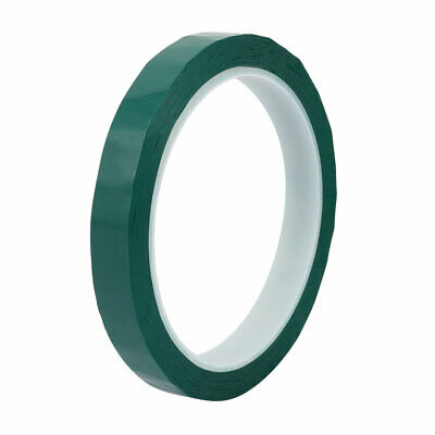 12mm Width 50M Long Single-side Electrical Insulated Adhesive Tape Green