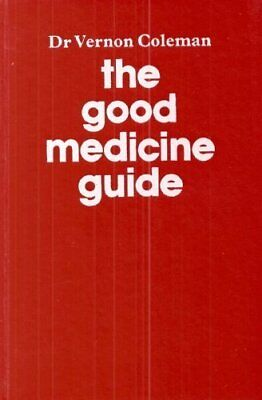 Good Medicine Guide by Coleman, Vernon Hardback Book The Fast Free Shipping