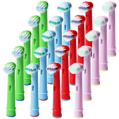 20x For Oral B EB-10A Pro-Health Stage Power Replacement Kids Tooth Brush Heads