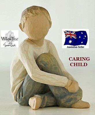 CARING CHILD Demdaco Willow Tree Figurine By Susan Lordi BRAND NEW IN BOX
