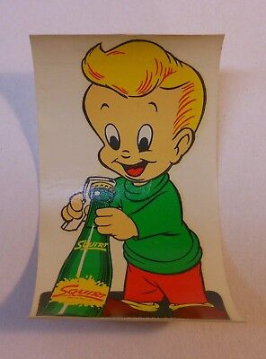 """Vintage Squirt 1953 Decal """"Squirt Boy"""""""