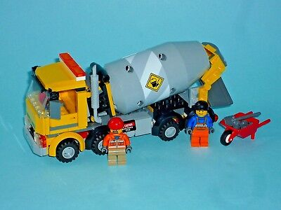 Lego City 60018 Cement Mixer With Instructions 2400 Picclick Uk