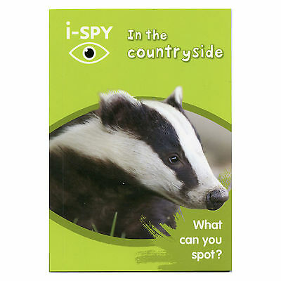 Michelin I SPY In the Countryside Wildlife Spotter Nature Spot & Score Book