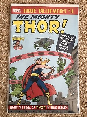True Believers Mighty Thor #1 - Kirby 100th Anniversary - Marvel - NM