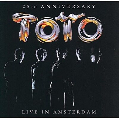Toto Live In Amsterdam CD NEW SEALED Africa/Rosanna/Hold The Line+