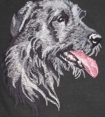 Embroidered Long-Sleeved T-Shirt - Irish Wolfhound BT3590  Sizes S - XXL