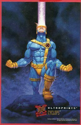 '95 FLEER ULTRAPRINTS X-MEN - CYCLOPS (Marc Sasso)