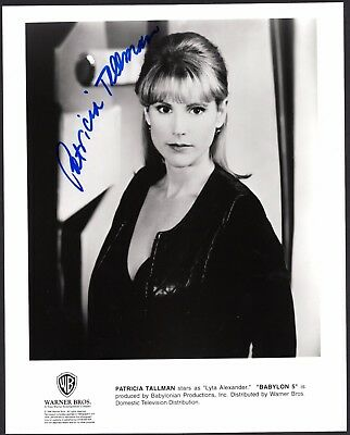 Patricia Tallman signed original Babylon 5 publicity photo / autograph