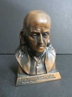 Ben Franklin Coin Bank - Suffolk Franklin Savings Bank Boston - Vintage (S-1)