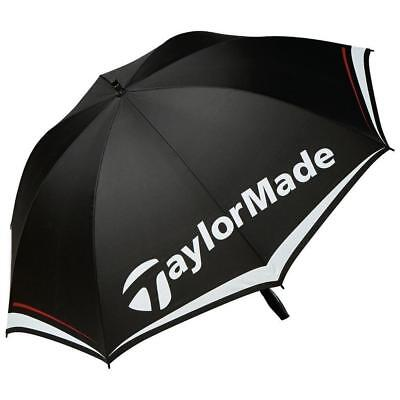 "TaylorMade Golf 2017 Single Canopy 60"" Umbrella (Black/White/Grey)"