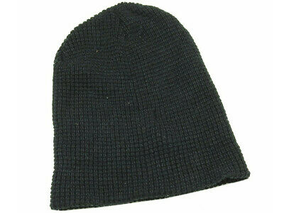 Bed Bath And Beyond One Size Waffle Beanie, Black