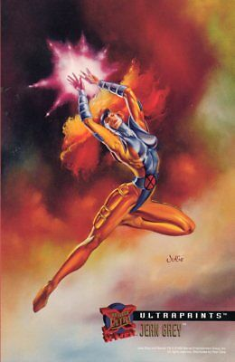 '95 FLEER ULTRAPRINTS X-MEN - JEAN GREY (Julie Bell)