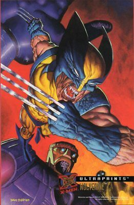 '95 FLEER ULTRAPRINTS X-MEN - WOLVERINE (Dave DeVries)