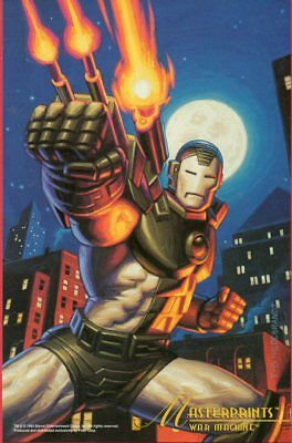 Marvel Masterpieces 1994 Jumbo - Greg & Tim Hildebrandt - War Machine