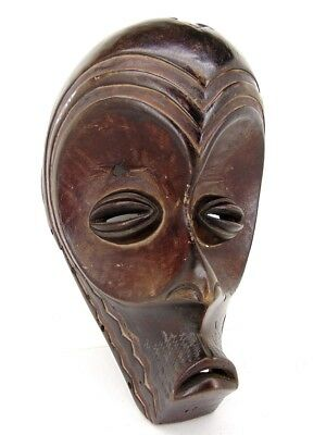 CHOKWE TRIBE Large African Tribal Mask CONGO ANGOLA 1950s Missionary Family