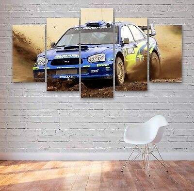 30x20 Inch Canvas Peugeot 106 Rallye Framed Picture Print