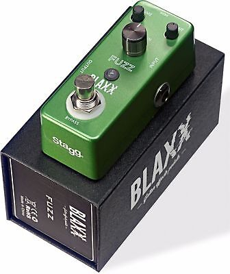 Blaxx by Stagg Model BX-FUZZ Heavy Metal Electric Guitar Effect Pedal