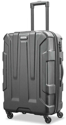 "Samsonite Luggage Centric Hardside 24"" Spinner Expandable Upright Suitcase - Blk"