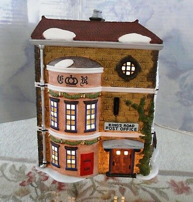 "DEPT 56 ""King's Road Post Office"" 58017 RETIRED Dickens Village 1992 Porcelain"