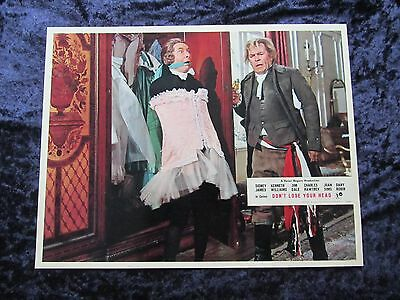CARRY ON DON'T LOSE YOUR HEAD  lobby card #5 KENNETH WILLIAMS