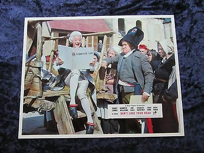 CARRY ON DON'T LOSE YOUR HEAD  lobby card #4 KENNETH WILLIAMS