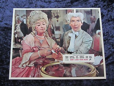 CARRY ON DON'T LOSE YOUR HEAD  lobby card #1 KENNETH WILLIAMS, JOAN SIMS